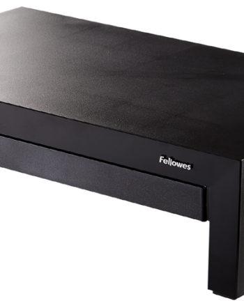 Fellowes Monitorständer Designer Office Suites, schwarz