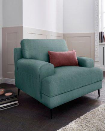 exxpo - sofa fashion Sessel, FSC®-zertifiziert, grün