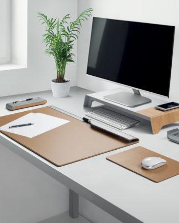 sigel Monitorständer blanko smartstyle, Holz-Metallic-Look