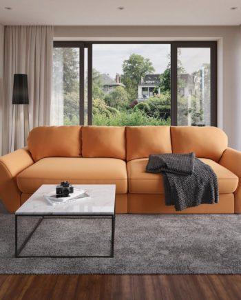 sit&more Big-Sofa, orange