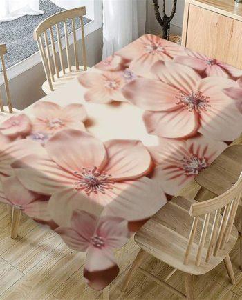 1 stücke 140cm x 80cm Urwald 3D Blume Tisch Tuch Rechteckigen Tee Tisch Abdeckung Esstisch Abdecku