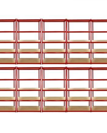 10 x Z-Rax Garagenregal Werkstattregal Kelleregal Regal Industrie 90cm B x 45cm T x 180cm H