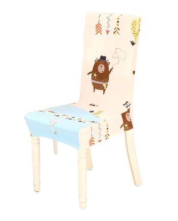 1Pcsc Cartoon Anime Esszimmer Stuhl Abdeckung Sofa Tasche Stuhl Möbel Set Stuhl Abdeckungen Banket