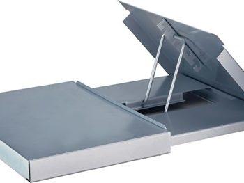 7600-8 Monitorständer Metall, mit Konzepthalter