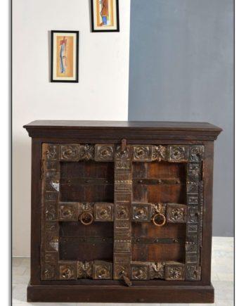 Almirah Sideboard Recyceltes Holz Braun