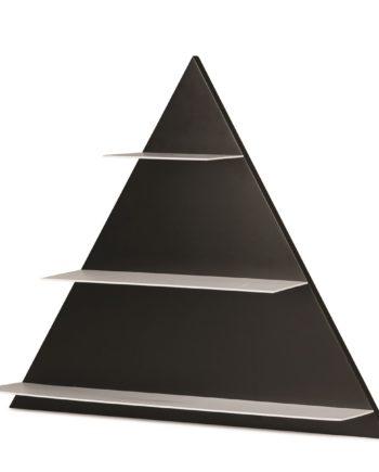 Design Letters Wandregal Triangle schwarz