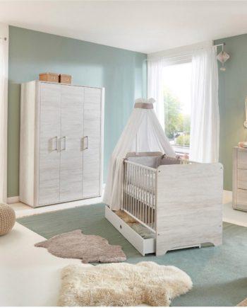 arthur berndt Babyzimmer-Komplettset Leon (Set, 3-tlg)