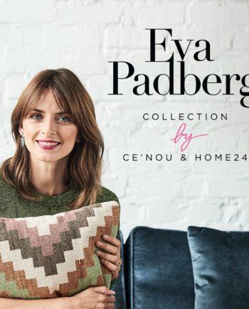 home24 Eva Padberg Collection Sessel Lavina I Cremeweiß Webstoff 101x95x85 cm (BxHxT)