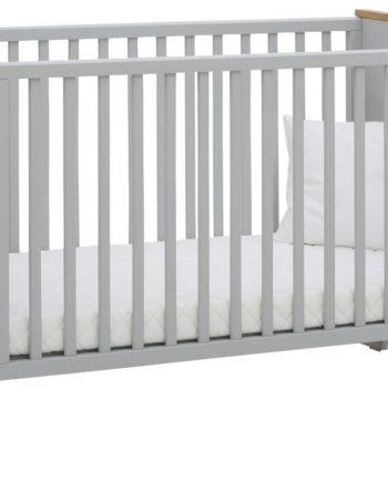 Babybett , grau