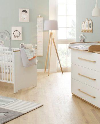 Babymöbel-Set , 2er Set, weiß