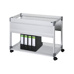 DURABLE System File Trolley 100 Hängemappenwagen grau