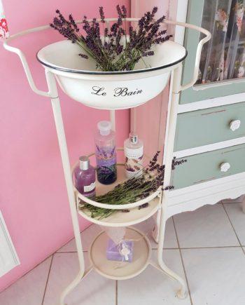 Ambiente Haus Beistelltisch Waschschüssel mit Stand