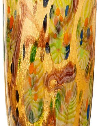 GILDE GLAS art Dekovase Primavera