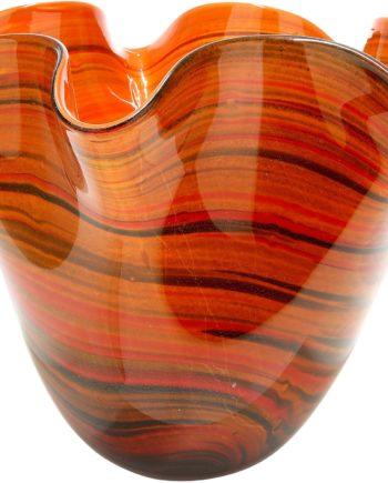 GILDE GLAS art Dekovase Sienna